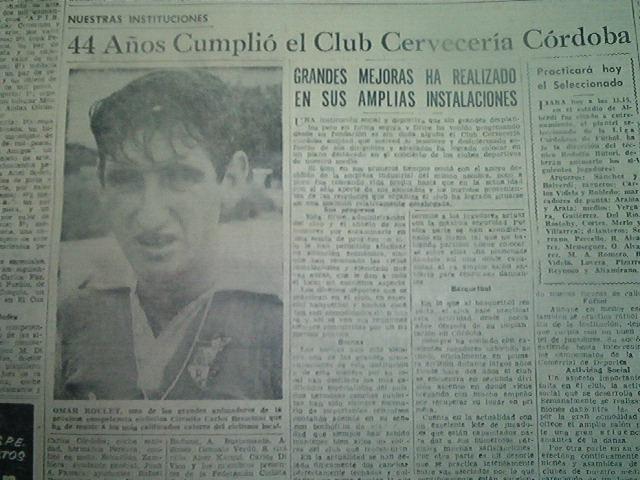 FESTEJO DE UN ANIVERSARIO DEL CLUB