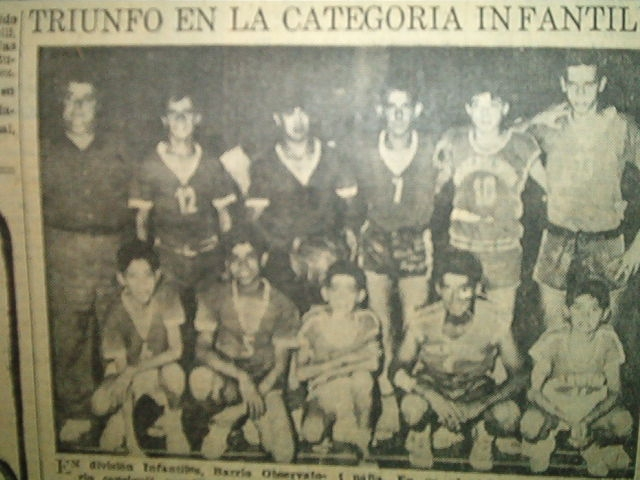 Club Barrio Observatorio - Categoria Infantil