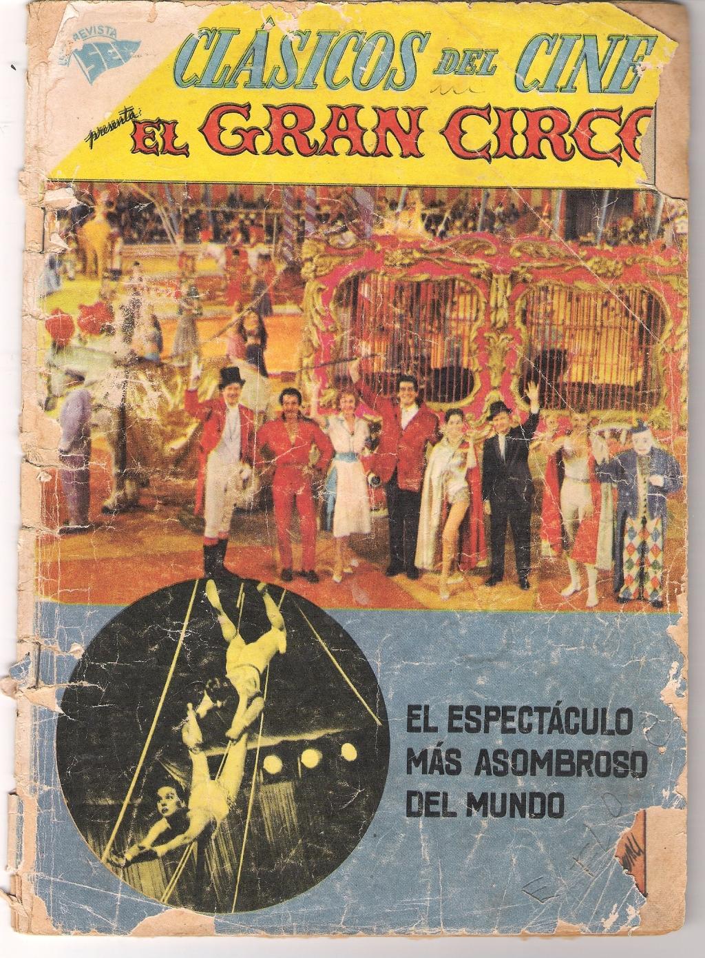 UNA REVISTA SEA - EL GRAN CIRCO, 1º DE FEBRERO DE 1960- PELICULA CON VICTOR MATURE, RED BUTTONS Y RHONDA FLEMING