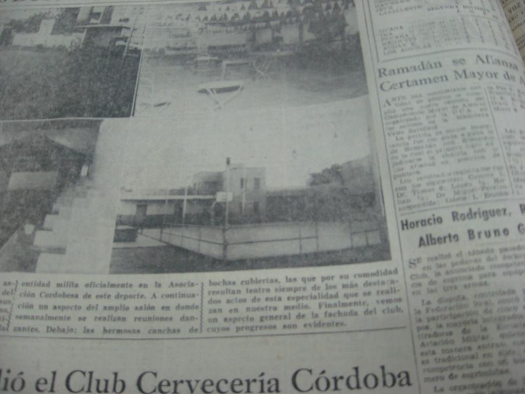 LA VOZ DEL INTERIOR MIERCOLES 12 DE MAYO DE 1965 PAGINA 16