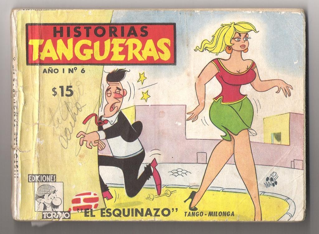 HASTA EL TANGO PERDIA SU SERIEDAD Y DRAMATISMO