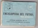 ENCICLOPEDIA DE BOLSILLO, DEL TAMAÑO INFERIOR A UNA ETIQUETA DE CIGARRILLO Y DE 240 PÁGINAS CON TODA LA HISTORIA DEL FUTBOL ARGENTINO HASTA 1960, DESDE SU FUNDACION