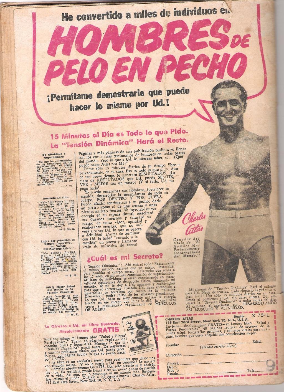 PUBLICIDAD DE NOVIEMBRE DE 1961 CUANDO LA REVISTA VALIA $9