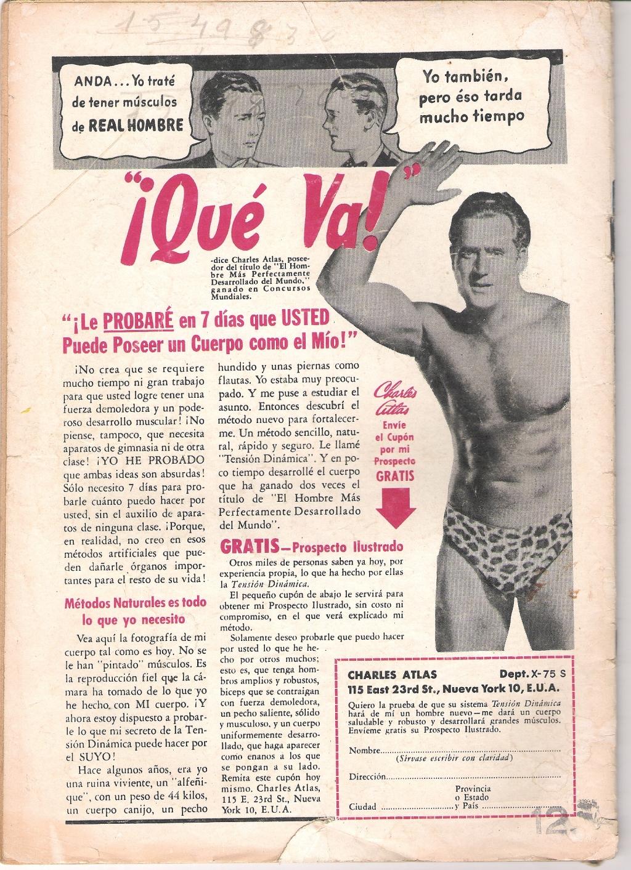 PUBLICIDAD DE MAYO DE 1962 CUANDO LA REVISTA VALIA $12
