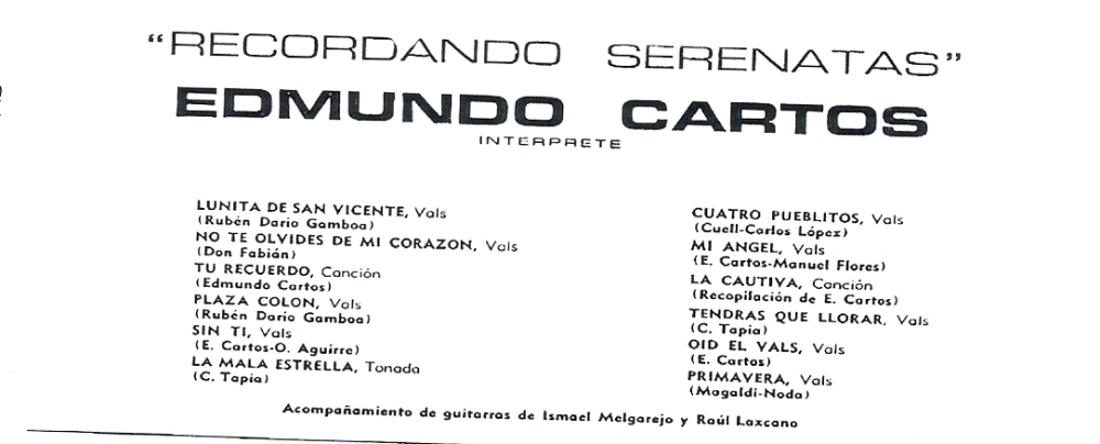MAS SOBRE EDMUNDO CARTOS (3/5)