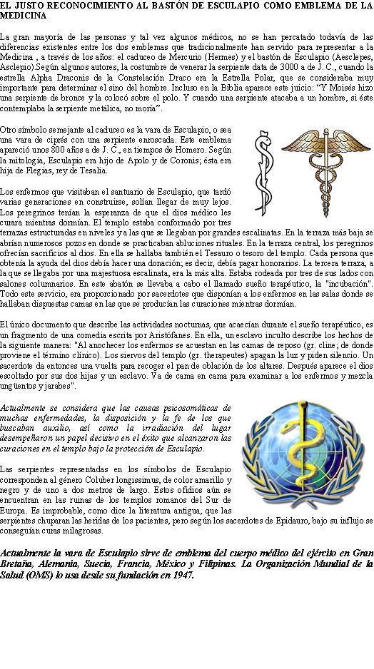 PARA LOS MEDICOS DE LA P65 en su dia 3 de DICIEMBRE